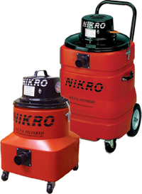 HEPA FILTERED LEAD VACUUMS - NIKRO Industries, Inc.