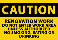 NIKRO 861983 - CAUTION SIGNS - Mold-Flood Remediation Equipment 