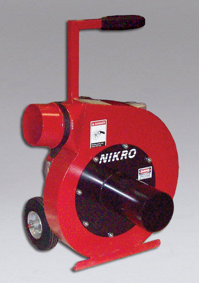 NIKRO INSUL10 - 10 HP Insulation Removal Vacuum - Insulation Removal Vacuums
