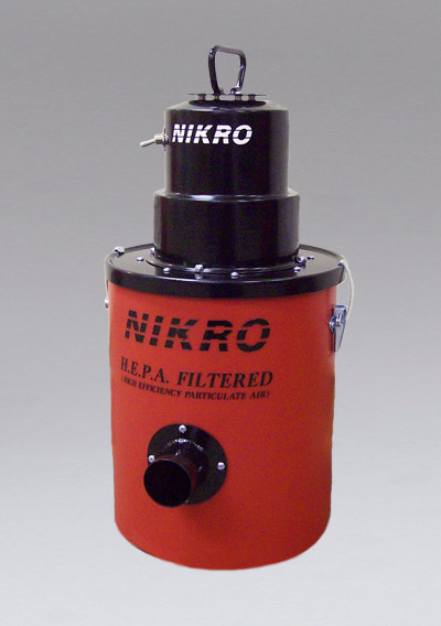 LV02 2 Gallon HEPA Lead Vacuum - 2 Gallon HEPA Lead Vacuum - NIKRO Industries, Inc.