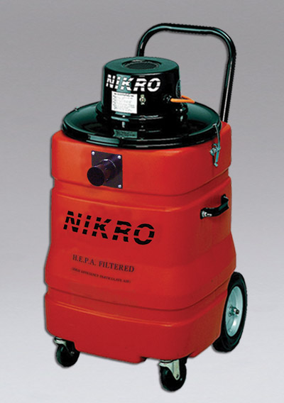 NIKRO LV15 - 15 Gallon HEPA Lead Vacuum - HEPA Lead Vacuums & EPA RRP Compliance Products 
