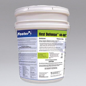 860450 - FOSTER FIRST DEFENSE 40-80 DISINFECTANT  - NIKRO Industries, Inc.
