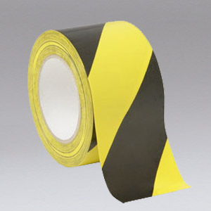 NIKRO 860829 - Black and Yellow Safety Tape - Air Duct Cleaning Equipment & Supplies 