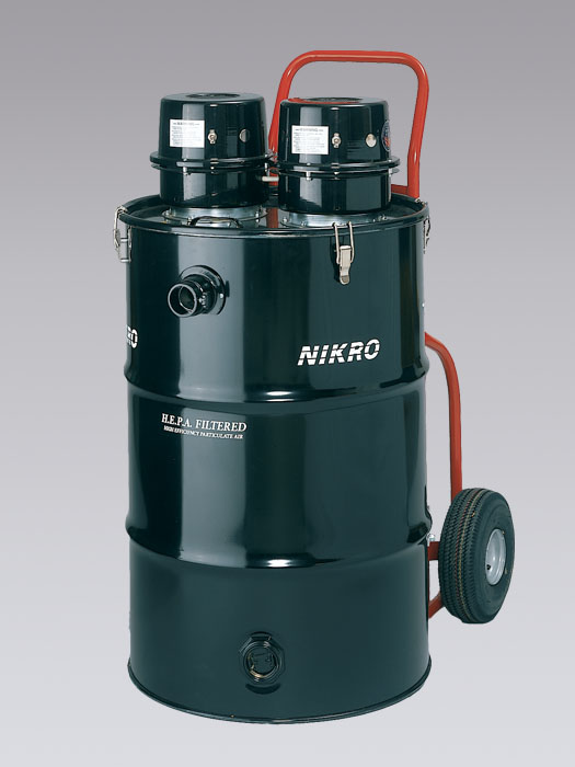 HD55230 - 55 Gallon Dual Motor HEPA Vacuum (Dry) - NIKRO Industries, Inc.