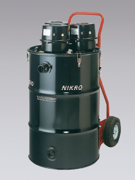 HD55345 - 55 Gallon Tri-Motor HEPA Vacuum (Dry) - NIKRO Industries, Inc.