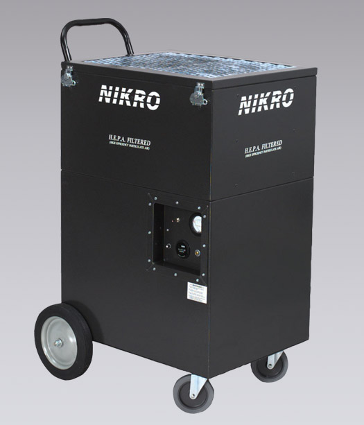NIKRO UA2005 - UPRIGHT AIR SCRUBBER - Air Scrubbers / Negative Air Machines