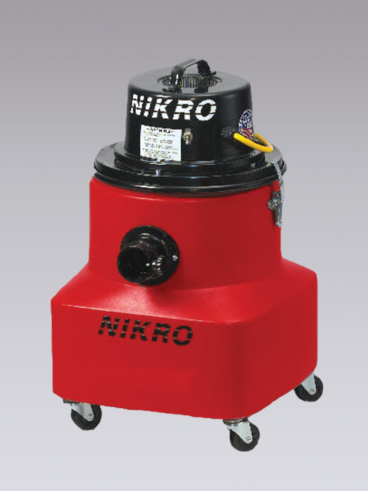 NIKRO WP10088 - 10 GALLON WET/DRY VACUUM - Commercial Industrial Vacuums (Without H.E.P.A. Filters)
