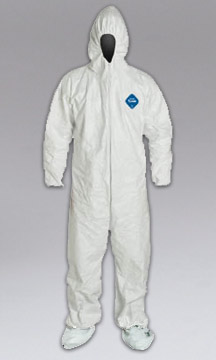 NIKRO 860991 - Tyvek Coveralls, w/ Hood & Boot - HEPA Lead Vacuums & EPA RRP Compliance Products 