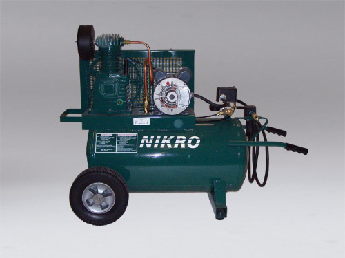 860758 - 115V Single Stage, 150 PSI Portable Electric Compressor - NIKRO Industries, Inc.