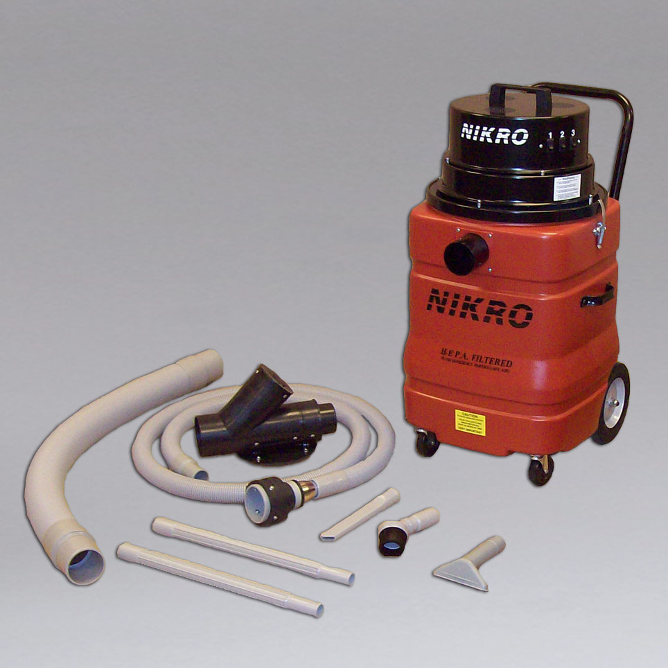 NIKRO DV15360 - Dryer Vent Vacuum w/Tool Kit - Dryer Vent Cleaning
