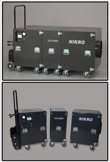 NIKRO  - Air Duct Cleaning System (Dual Motor) - EC5000