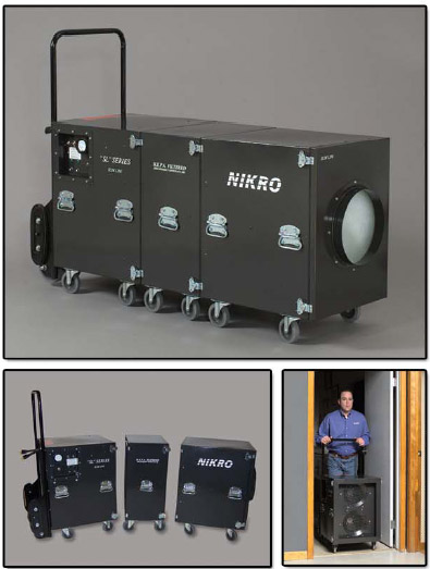 NIKRO  - Air Duct Cleaning System (Dual Motor) - SL4000