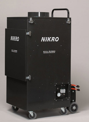 NIKRO UR5000 - Upright Commercial Air Duct Cleaning System (Dual Motor) - Air Duct Cleaning Equipment & Supplies 
