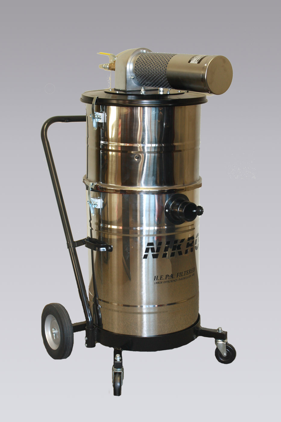 AHW15150-S - Stainless Steel Pneumatic Vacuums/ Compressed Air Powered Vacuums - NIKRO Industries, Inc.
