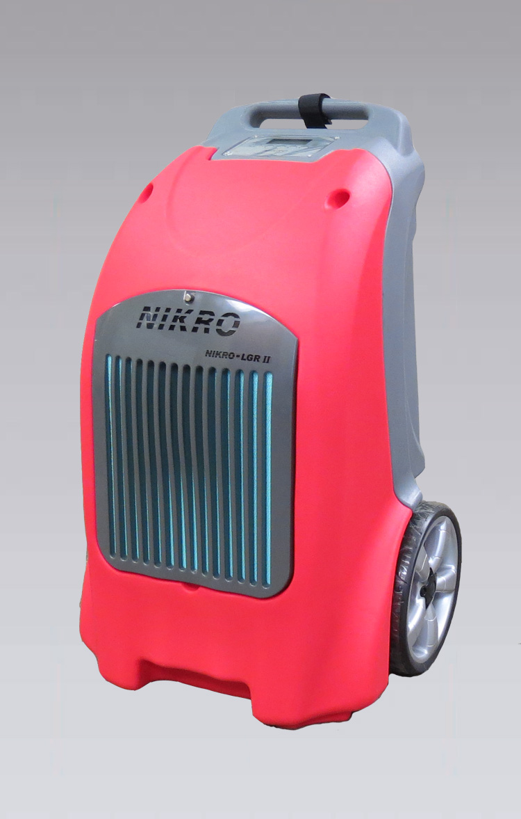 NIKRO LGRII - Low Grain Refrigerant Dehumidifier - Mold-Flood Remediation Equipment 