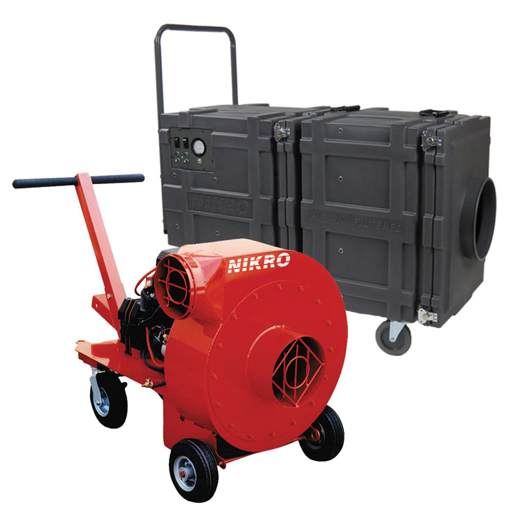NIKRO Air Duct Cleaning Equipment & Supplies