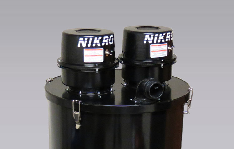 NIKRO 862148 - 55 GALLON DRUM ADAPTER KIT - Commercial Industrial Vacuums (Without H.E.P.A. Filters)