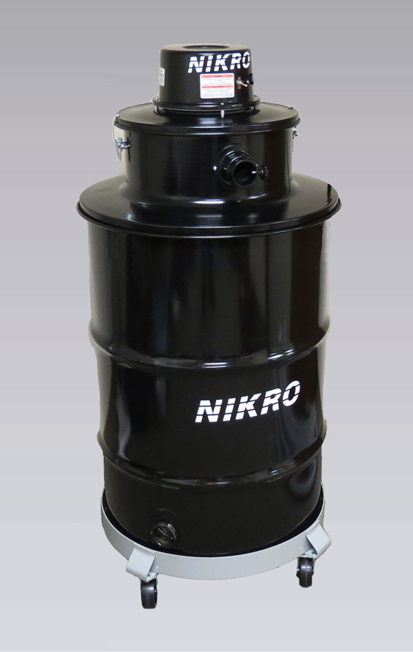 NIKRO DP55110 - 55 GALLON WET/DRY VACUUM - Commercial Industrial Vacuums (Without H.E.P.A. Filters)