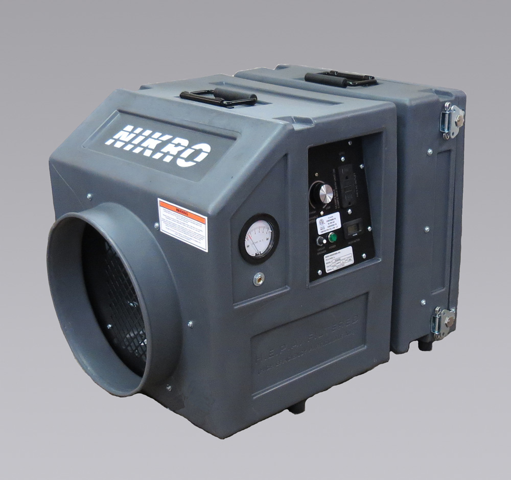 PS600 - MINI POLY AIR SCRUBBER - NIKRO Industries, Inc.