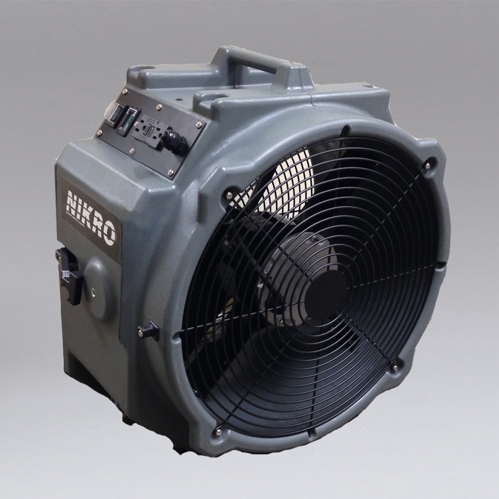 NIKRO 862290 - Axial Fan Air Mover - Mold-Flood Remediation Equipment 