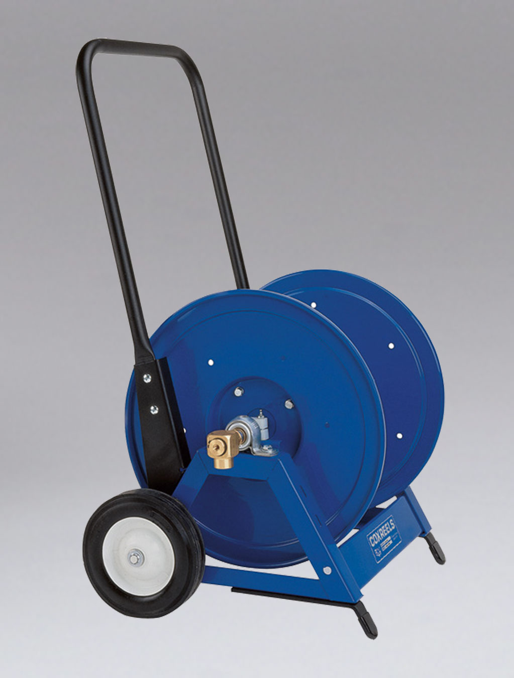 NIKRO 860817 - Heavy Duty Hand Hose Reel w/Cart - Air Duct Cleaning Equipment & Supplies 