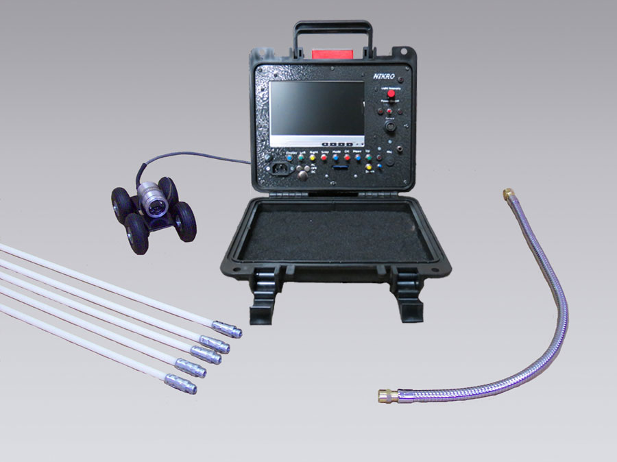 NIKRO 862081 - Inspection System with SD Recorder - Air Duct Cleaning Equipment & Supplies 