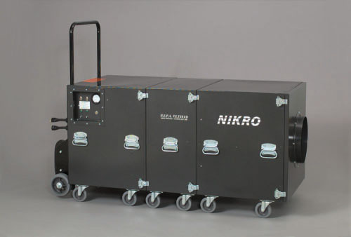 NIKRO EC5000 - Air Duct Cleaning System (Dual Motor) - Air Duct Cleaning Equipment & Supplies 