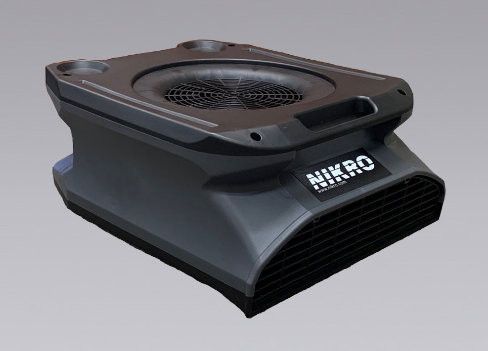 NIKRO 862836 - Low Profile Air Mover - Mold-Flood Remediation Equipment 